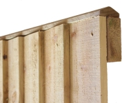 Pressure treated feather edge fence panels - Dutton Builders Merchants Ltd Product image