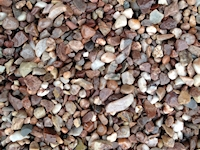 Staffordshire Pink (flint) 10mm. usual depth 30 to 40mm. Dutton Builders Merchants Ltd Product image