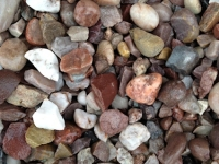 Staffordshire Pink (flint) 20mm. usual depth 50mm. Dutton Builders Merchants Ltd Product image