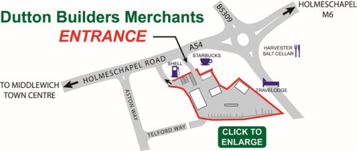 Map - Dutton Builders Merchants Ltd