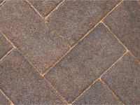 Paver Driveway Burnt Oker - Dutton Builders Merchants Ltd Product image