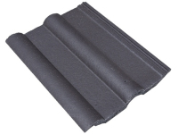 Roof Tile Double Roman Smooth Grey - Dutton Builders Merchants Ltd Product image